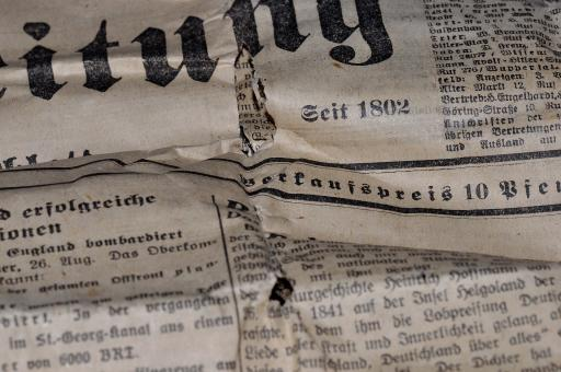 Free Stock Photo of Newspaper