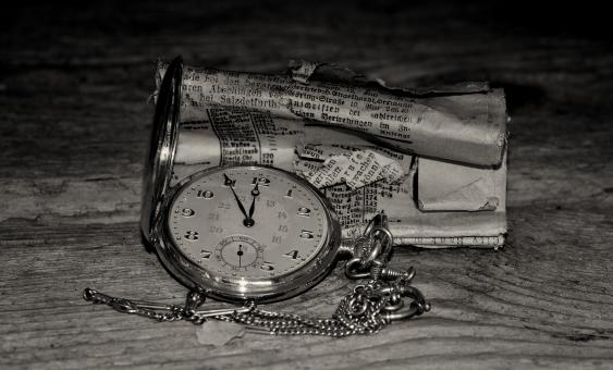 Free Stock Photo of Pocket Watch