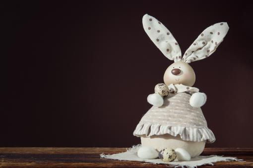 Free Stock Photo of Easter Bunny - Decoration piece