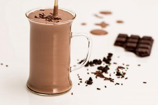 Free Stock Photo of Chocolate Smoothie
