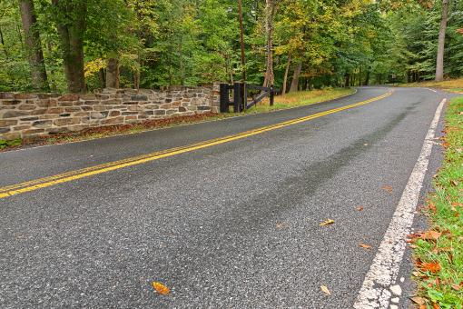 Free Stock Photo of Catoctin Mountain Road - HDR