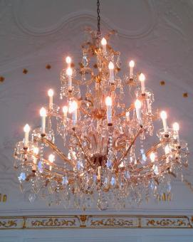 Free Stock Photo of Chandelier