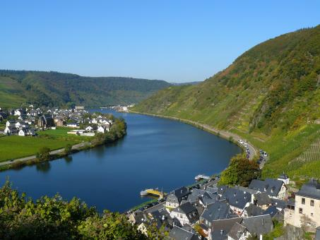 Free Stock Photo of Mosel