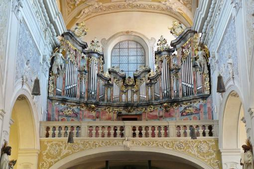 Free Stock Photo of Church Organ