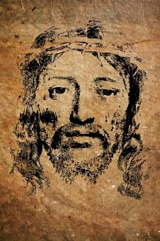 Free Stock Photo of Portrait of Jesus