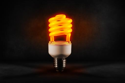Free Stock Photo of Glowing bulb