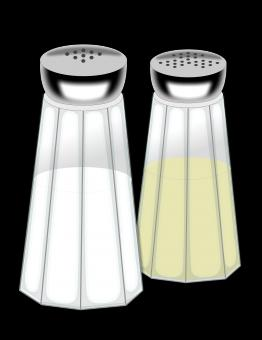 Free Stock Photo of Salt And Pepper