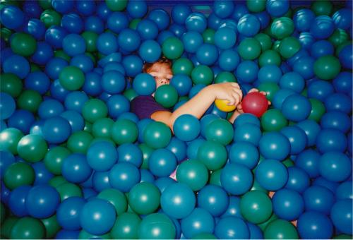 Free Stock Photo of Kid Playing with Balls