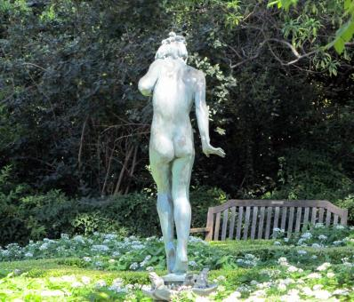 Free Stock Photo of Naked Statue
