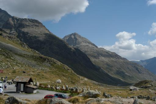 Free Stock Photo of Julier Pass