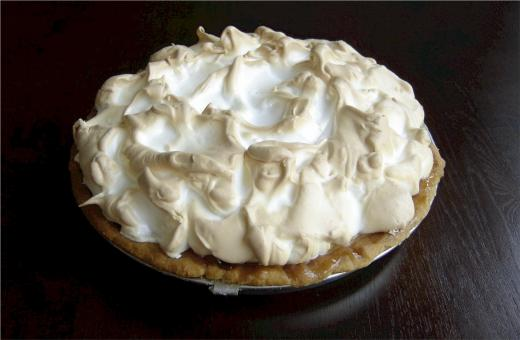 Free Stock Photo of Cream Pie