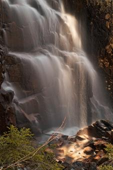 Free Stock Photo of Hadlock Sunbeam Falls - HDR