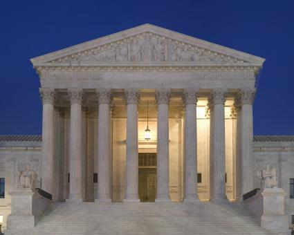 Free Stock Photo of Supreme Court