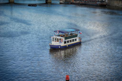 Free Stock Photo of Passenger boat in Prague
