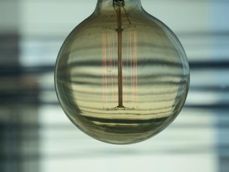 Free Stock Photo of Edison Lightbulb