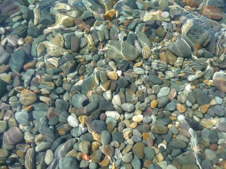 Free Stock Photo of Pebbles in the Water