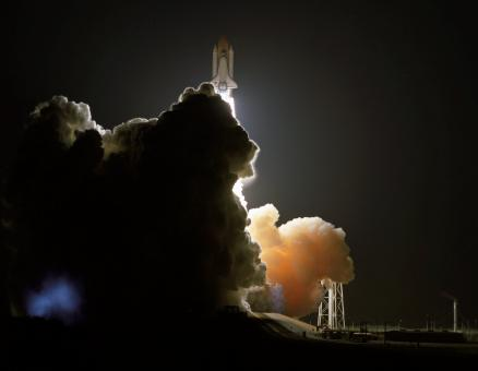 Free Stock Photo of Space Shuttle Launch