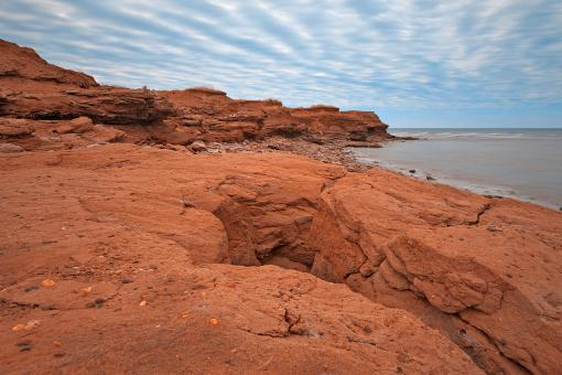 Free Stock Photo of PEI North Cape - HDR
