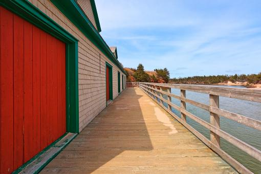 Free Stock Photo of Basin Head Beach Boardwalk - HDR