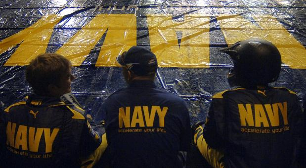 Free Stock Photo of Navy Team