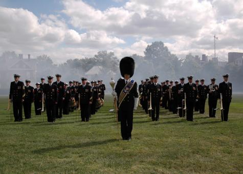 Free Stock Photo of Military Band