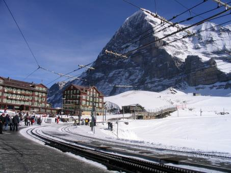Free Stock Photo of Kleine Scheidegg