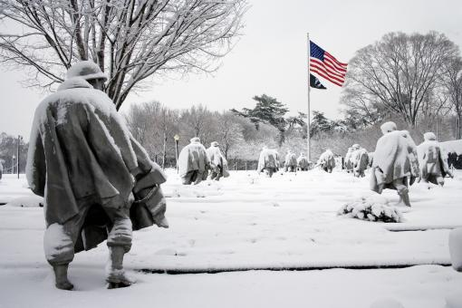 Free Stock Photo of Korean War Memorial
