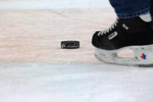 Free Stock Photo of Hockey Puck