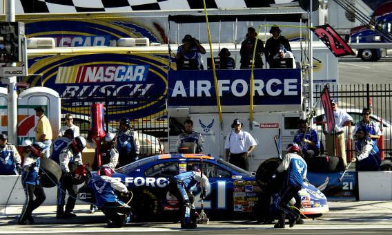 Free Stock Photo of Pit Crew