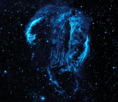 Free Stock Photo of Cygnus Loop Nebula