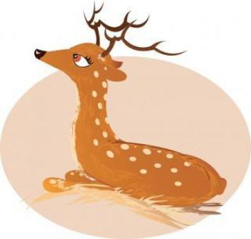 Free Stock Photo of Deer Vector Image