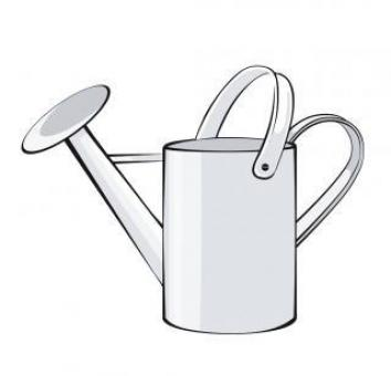 Free Stock Photo of Watering Can Vector Illustration