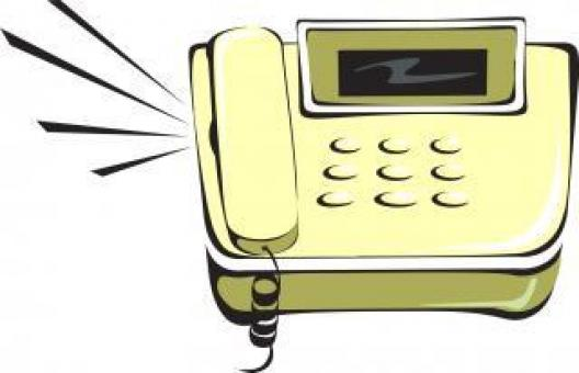 Free Stock Photo of Phone Ringing - Clipart