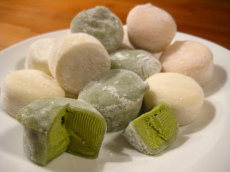 Free Stock Photo of Mochi Ice Cream
