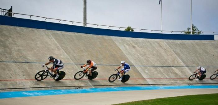 Free Stock Photo of Cycling on the Track