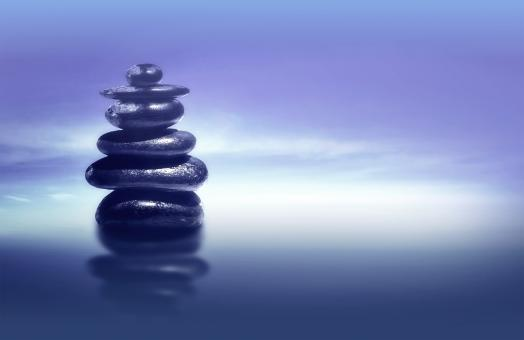 Free Stock Photo of Zen Stones - Feng Shui and Harmony Concept