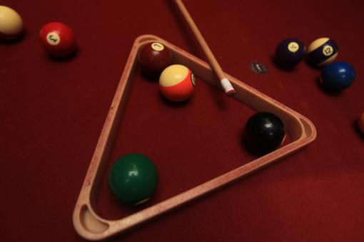 Free Stock Photo of Billiard