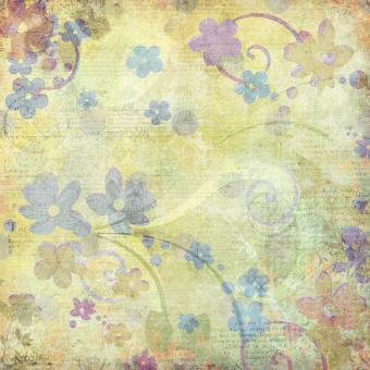Free Stock Photo of Yellow Floral Background