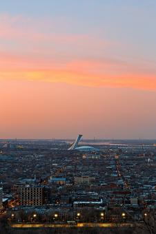 Free Stock Photo of Montreal Twilight - HDR