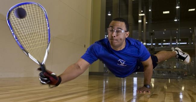 Free Stock Photo of Playing Squash