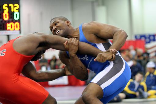 Free Stock Photo of Olympic Wrestlers