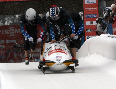 Free Stock Photo of Bobsled Racing