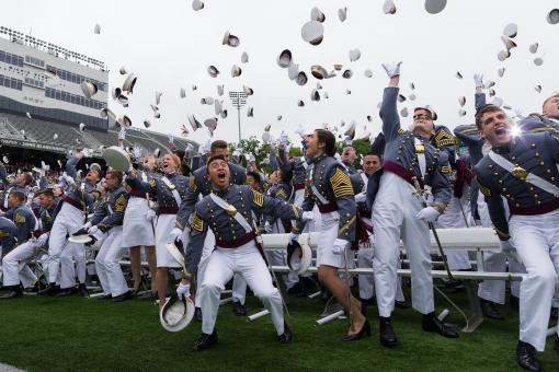 Free Stock Photo of Military Graduation