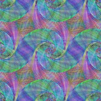 Free Stock Photo of Multicolor Wired Abstract Spiral Background
