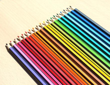 Free Stock Photo of Color Pencil Set
