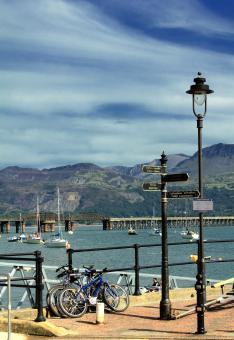 Free Stock Photo of Barmouth Harbour