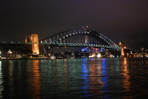 Free Stock Photo of Sydney Harbour Bridge