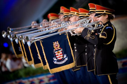 Free Stock Photo of Military Trumpeters