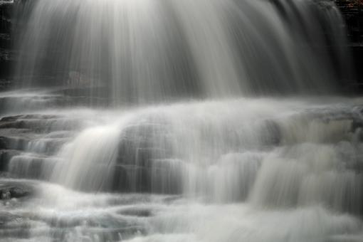 Free Stock Photo of Onondaga Falls Close-up - HDR