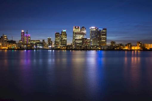 Free Stock Photo of Canary Wharf